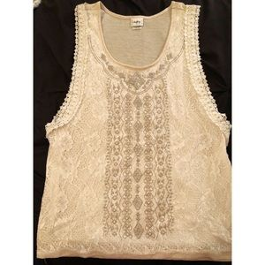 Lace Tank Top!